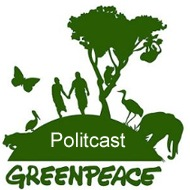 Greenpeace Politcast Podcast Logo